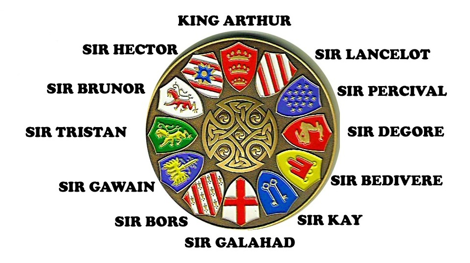 Knights of the round table heroes wiki fandom - Blason chevalier table ronde ...