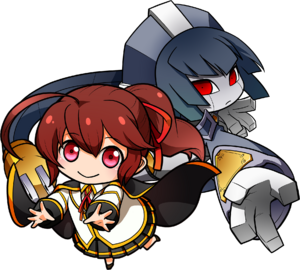 Celica A. Mercury (Chibi, Chronophantasma Extend)