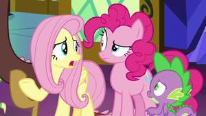 Fluttershy tell Celestia and Luna S9E1