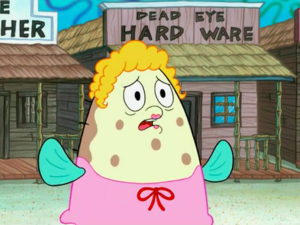 SpongeBob SquarePants - Mrs. Polene Puff