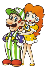 Luigi and Daisy NES Open Tournament Golf