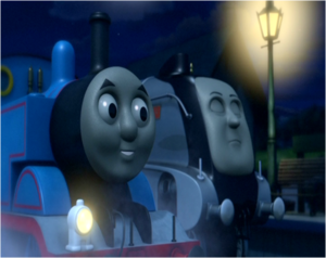 Thomas And Sleeping Spencer
