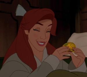 Anastasia's giggle