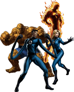 Fantastic Four (Earth-TRN259) 001