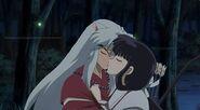 Inuyasha and kikyo the kiss by nikki1975-d97qptq