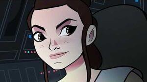 Star Wars Forces of Destiny Tracker Trouble Disney