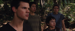 Jacob and new three members of Black Packs