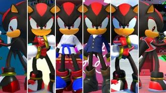 Mario & Sonic at the Olympic Games Tokyo 2020 - All Shadow Outfits