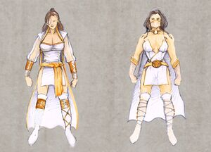 Mortal Kombat Deception Krypt Ashrah Character Concepts Artwork