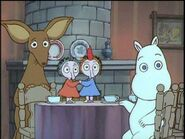 Sniff, Thingumy, Bob and Moomintroll