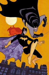 Batgirl Vol 4 33 Textless Batman 75th Anniversary Variant