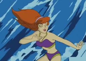 Daphne in Surf