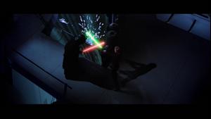Darth Vader receives