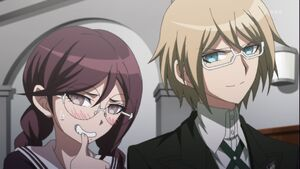 Fukawa and Byakuya in ep 13