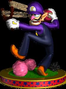 Waluigi Artwork - Mario Party 5