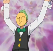 Cilan possessed by Yamask