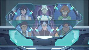 VLD - Keith, Allura, Pidge, Lance, Shiro and Hunk