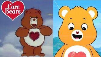 Classic Care Bears The Evolution of Tenderheart Bear!
