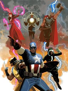 Uncanny Avengers (Earth-616) from Uncanny Avengers Vol 1 1 variant cover