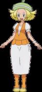 Bianca BW anime art