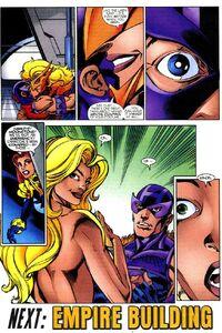 Songbird sees Meteorite and Hawkeye