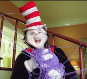 Cat in the Hat laughing
