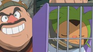 Chespin in Cage