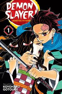 Demon Slayer Volume 1 cover