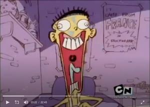 Ed comical scream