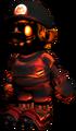 Fiery Metal Mario Model