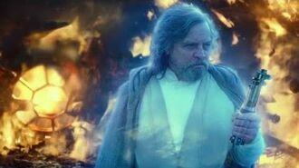 Rey Tries To Burn Anakin's Lightsaber HD Star Wars Rise Of Skywalker