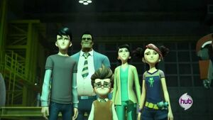 The main characters of the PRIME-Series