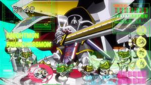 Knightmon and Pawnchessmon (DigiFuse Time)