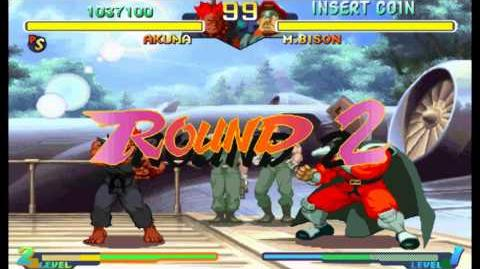 Street Fighter Alpha 2(Zero 2) Expert difficulty Akuma(Gouki) 2 Playthrough