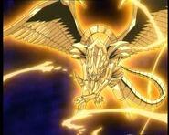 Winged ra