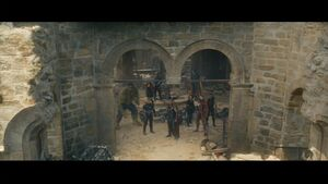 Avengers facing Ultron