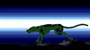 Beast Boy as Cheetah