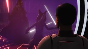 Darth Vader musters