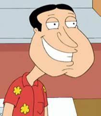 Glenn Quagmire smile