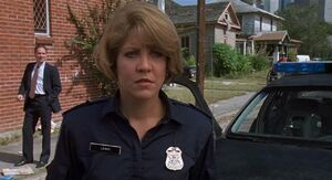 Officer Anne Lewis in Robocop 2