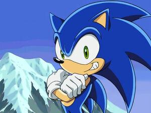 Sonic's Smiling