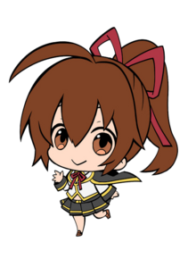Celica A Mercury (Chibi Strap Artwork)trasparent