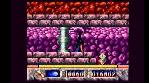 Elvira The Arcade Game (Fire World) walkthrough