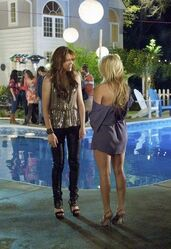 Lisa & Amber at Lisa's house