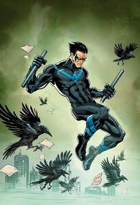 Nightwing Vol 4 20 Textless Variant
