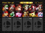 SSB64 roster