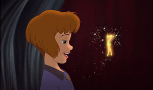 Tinkerbell revived by Jane's belief in fairies