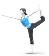 Wii Fit Trainer SSB