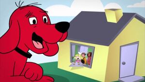 Clifford about the sneeze