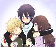 Hiyori, Yato and Yukine